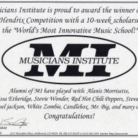 Musician's Institute Scholarship